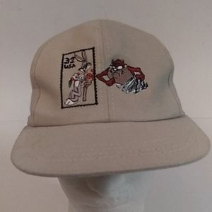 Vintage Looney Tunes USA made Snapback cap